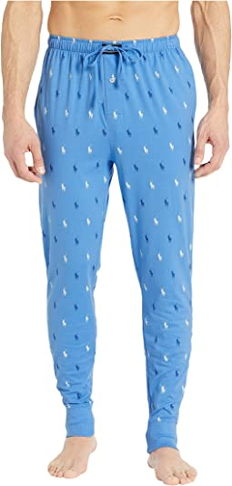 All Over Pony Player Knit Jogger