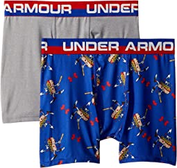 Under Armour Kids 2-Pack Homerun Hotdog Boxer Set (Big Kids)