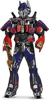 Men's Hasbro Age Of Extinction Optimus Prime Theatrical with Plus 3D Costume