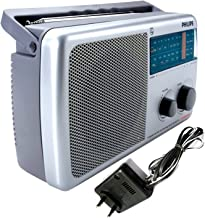 Philips Radio IN-RL384TV/N with MW/FM/SW/TV DC SOCKET, Without Battery/Adaptor