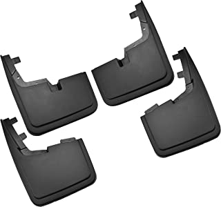 Tecoom Mud Flaps Splash Guards Fit 2015-2018 Ford F-150 Without OEM Wheel Lip Molding Front and Rear 4Pcs Set ABS Molded