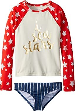 Seein Stars Rashguard Set (Little Kids/Big Kids)