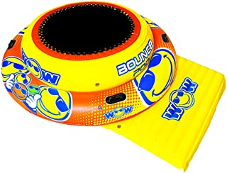 WOW Watersports 20-2030 Bounce Pad Inflatable, Yellow