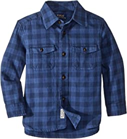 Plaid Cotton Workshirt (Toddler)