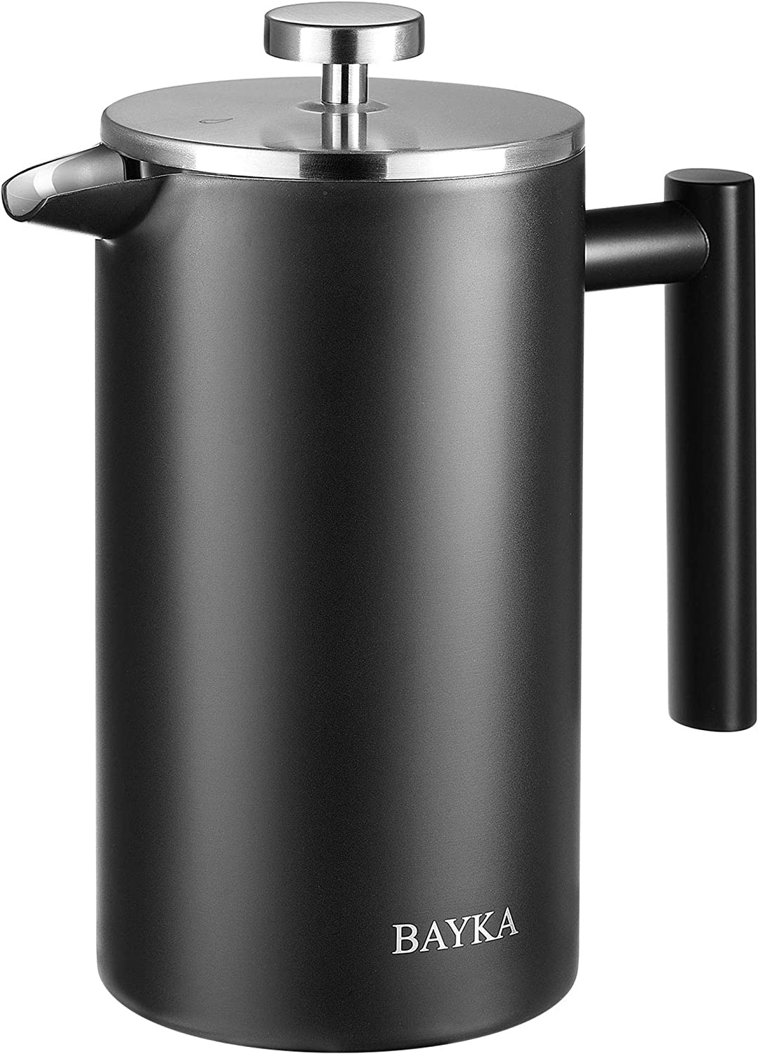 Department store BAYKA 34 Oz Super-cheap French Press Coffee 304 Grade Steel Stainless Maker