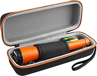 Metal Detectors Case Compatible for Kuman/ Garrett/ UNIROI Pin pointer Water Resistant Metal Detector with Holster Treasure Hunting Unearthing Tool Accessories Buzzer Vibration Automatic Tuning KW30