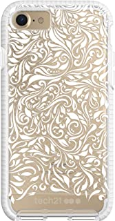 Tech21 Evo Check Lace Edition for iPhone 7 - Clear White