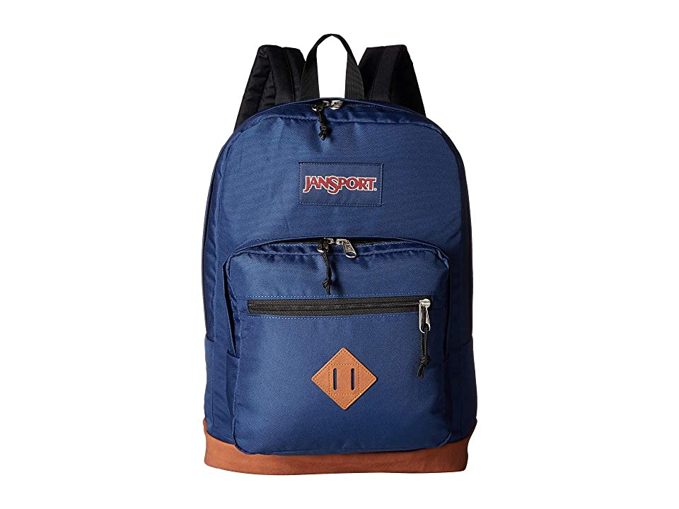 JanSport City View (Navy) Backpack Bags