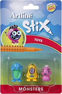 Artline Stix Toys 3Pk Monsters 2