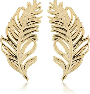Best 14k gold feather earrings Reviews