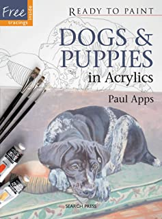 Dogs & Puppies in Acrylics (Ready to Paint)
