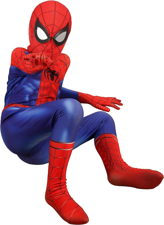 Superhero Costume Kids Bodysuits Spandex Halloween Cosplay Costumes Zipper at crotch