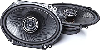 Kenwood KFC-C6896P 6x8 Inch 360 Watt Oval Custom Fit 2 Way Car Speakers (Pair)