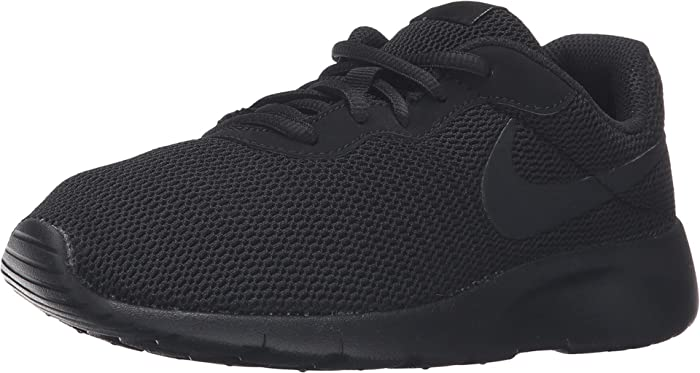 Details about Nike Girls NIKE TANJUN (GS) Fabric Low Top Lace Up, BlackWhiteWhite, Size 6.0