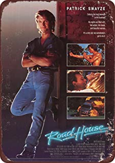 Custom Kraze Road House Movie Poster Vintage Reproduction Metal Sign 8 x 12