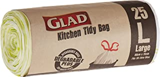 Glad Kitchen Tidy Bag, Large, 25 Count (Pack of 1)