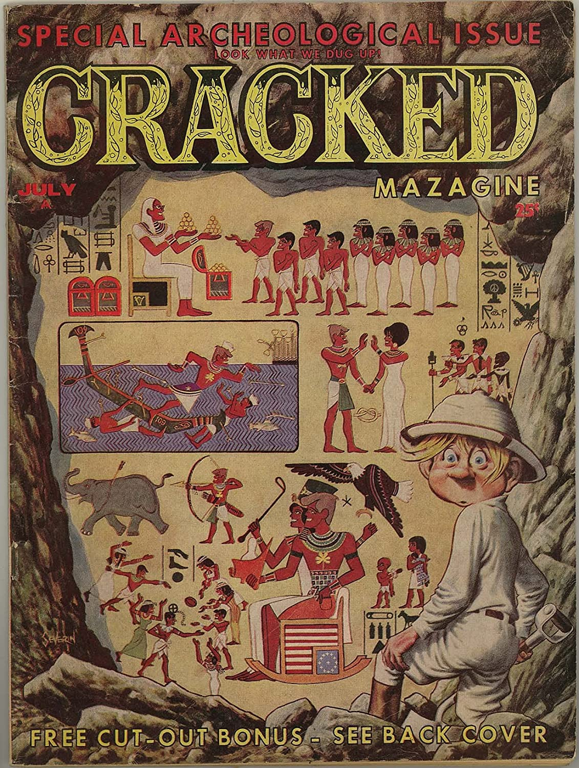 Max 59% OFF Cracked Magazine #30 specialty shop 1963 - July