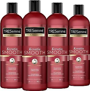 TRESemmé Keratin Smooth Shampoo برای موهای خشک Keratin Smooth Sleek به دنبال 72 ساعت 592 ML 4 تعداد