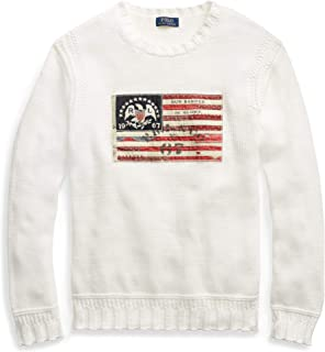 Polo Ralph Lauren Men's Flag Cotton Crewneck Sweater