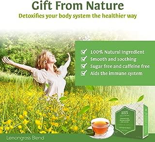 Rhymba Hills Lemon Grass Blend (Blend of Lemongrass, Kaffir Lime Leaves and Pandan) 10 sachets Herbal Infusion Tea