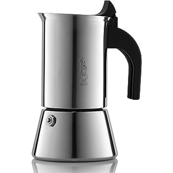 Venus Coffee maker de espresso, acero inoxidable, 4 tazas