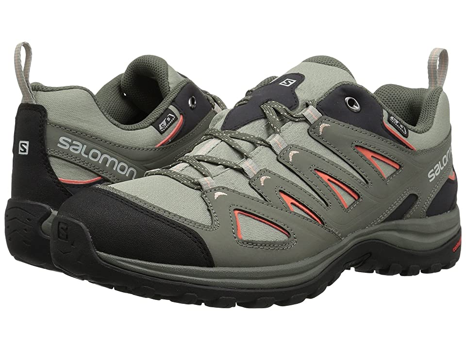 Salomon Ellipse 3 CS WP USA (Shadow/Castor Gray/Living Coral) Women