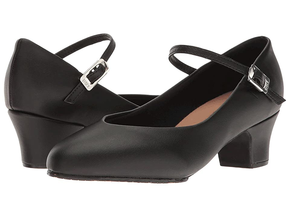 Pin Up Shoes- Heels, Pumps & Flats Bloch Broadway Lo Black Womens Dance Shoes $43.90 AT vintagedancer.com