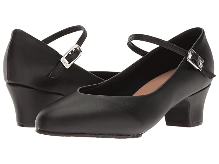 Women's 1920s Shoe Styles and History Bloch Broadway Lo Black Womens Dance Shoes $43.90 AT vintagedancer.com