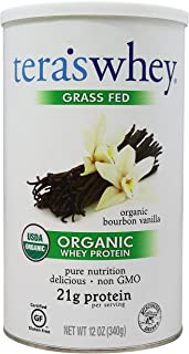 tera's: Organic Whey Protein, Bourbon Vanilla, 12 oz