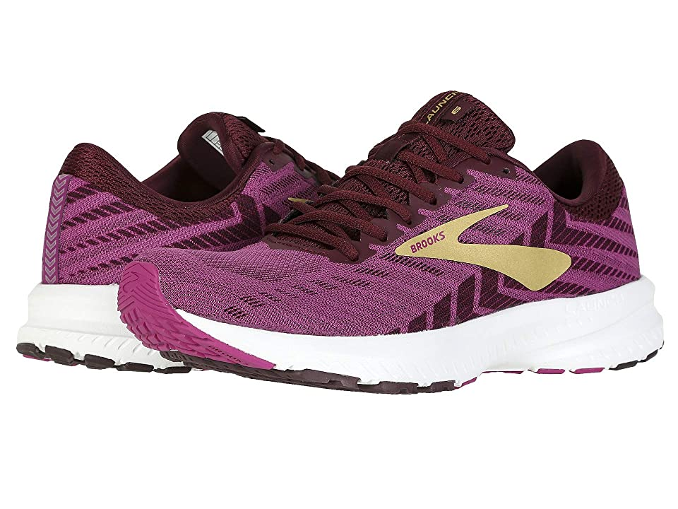Brooks Launch 6 (Aster/Fig/Gold) Women