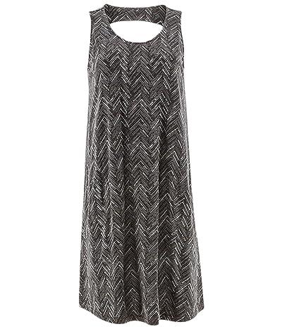 Aventura Clothing Carrick Print Dress (Black) Women