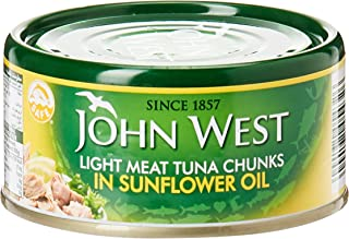 JOHN WEST Lite Meat Chunks in Sunflower Oil, 170 gm