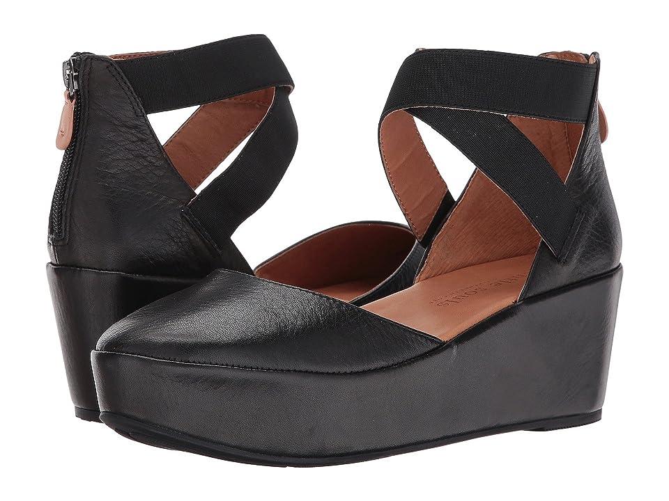 60s Shoes, Boots | 70s Shoes, Platforms, Boots Gentle Souls Nyssa Black Womens  Shoes $228.95 AT vintagedancer.com