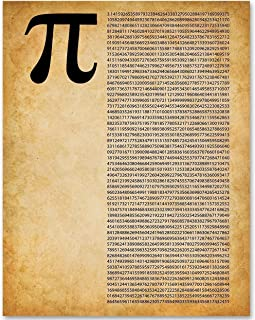 Pi - 11x14 Unframed Patent Print - Makes a Great Gift Under $15 for Math Lovers