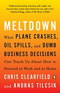 Meltdown: What Plane Crashes, Oil Spills, and Dumb Business Decisions Can Teach Us About How to Succeed at Work and at Home