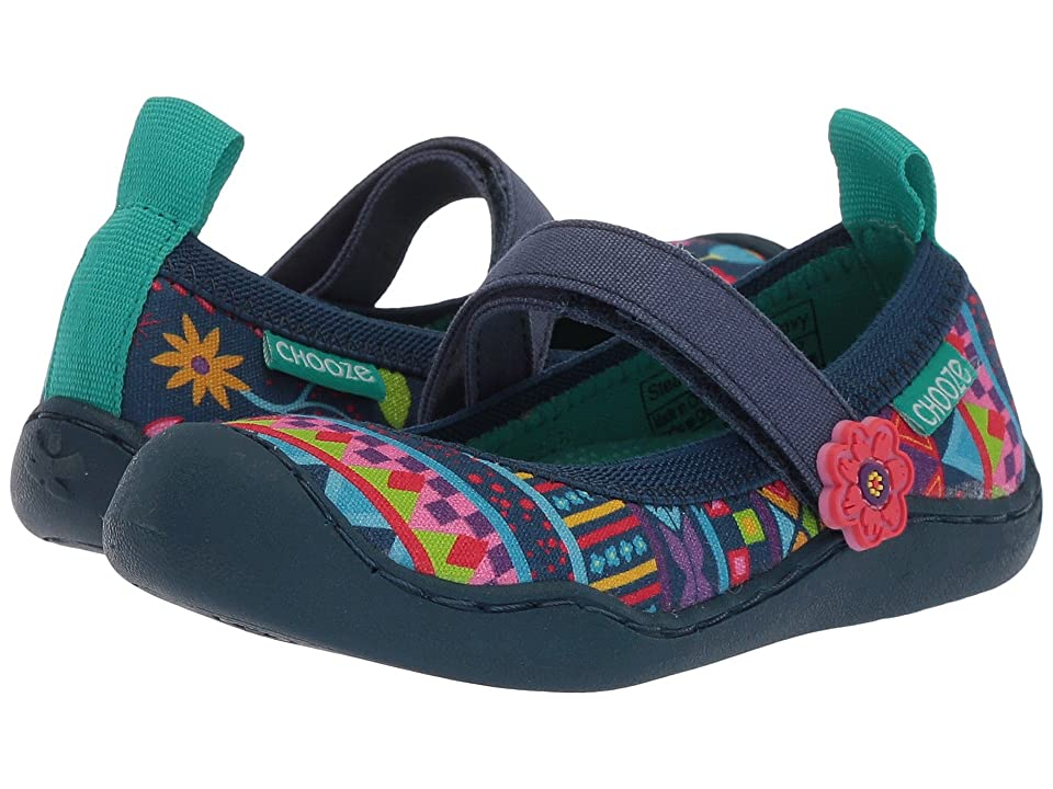 CHOOZE Steady (Toddler/Little Kid) (Amaze Navy) Girls Shoes