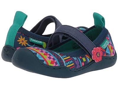 CHOOZE Steady (Toddler/Little Kid) (Amaze Navy) Girls Shoes