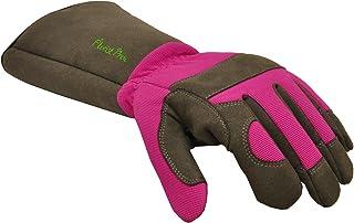 G & F 2430M Florist Pro Long Sleeve Rose gardening Gloves, Thorn Resistant Garden Gloves, Rose Pruning Gloves - Women's Medium
