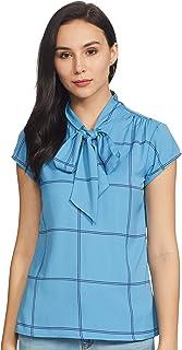 Amazon Brand - Symbol Women's Checkered Regular fit Shirt