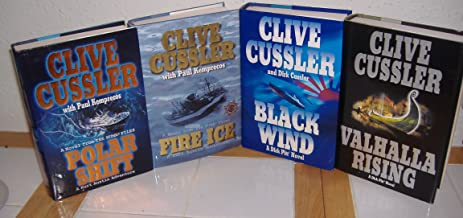 Polar Shift, Fire Ice (A Novel from The Numa Files) & Black Wind & Valhalla Rising (A Dirk Pitt Novel) by Clive Cussler (4...
