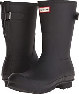 HUNTER Women's Original Short Back Adjustable Rain Boots