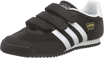 adidas Dragon CF, Baskets Basses Mixte Enfant, Noir (Core Black ...