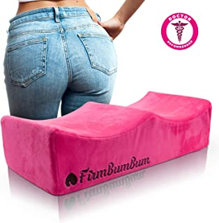 Brazilian Butt Lift Pillow – Post Surgery Recovery Seat – BBL Booty Foam Lift and Carry Bag – Firm Support Cushion - Fits in Car Seat and Office Chair – FirmBumBum