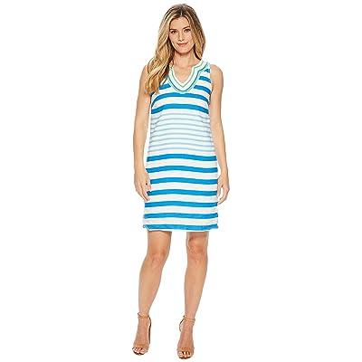 Hatley Portia Dress (Seaglass Stripes) Women