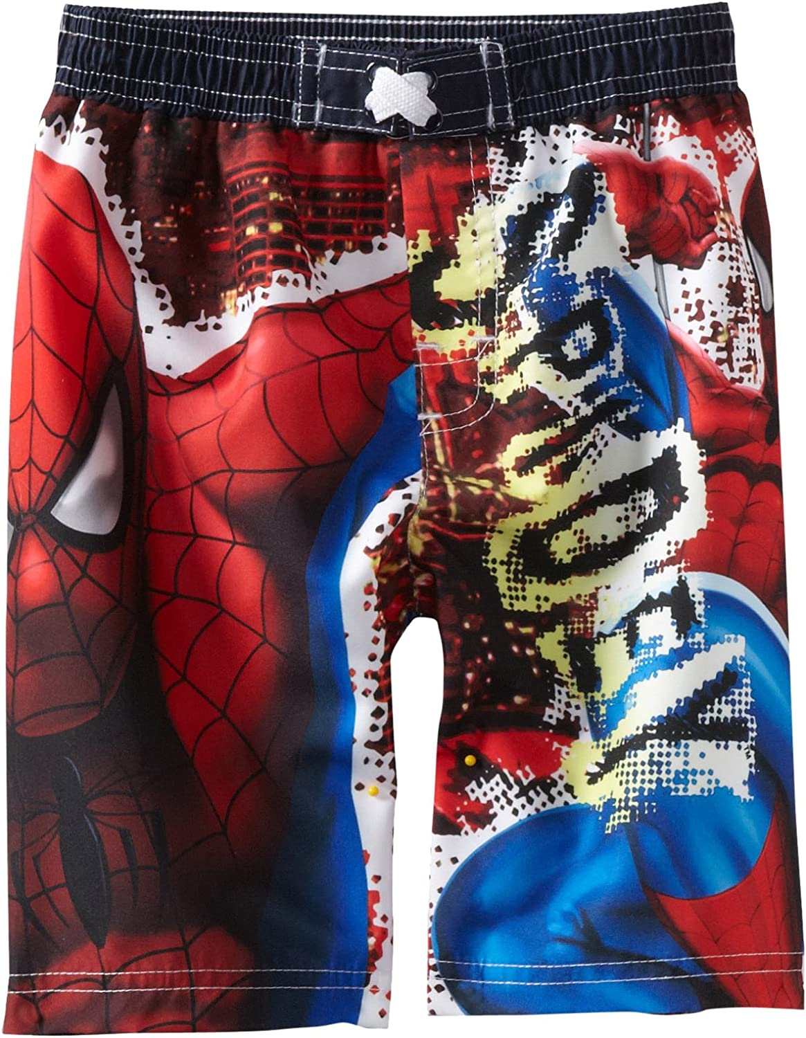 Marvel Little Boys' Memphis Mall Recommended Trunk Spidey Swim