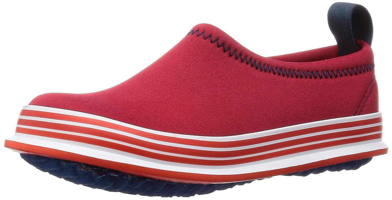 [スキッポン] 子ども 靴 ラッキープレーン(レッド) SKP-0041RD-15 (ソール 白) 15cm