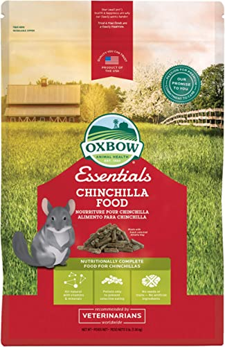 Oxbow Essentials Chinchilla Food - All Natural Chinchilla Food