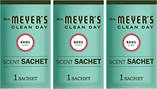 Mrs. Meyer's Scent Sachets, Basil, 1 CT