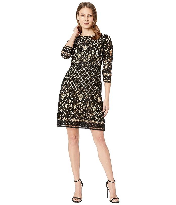 Gabby Skye Novelty Lace Dress 6pm