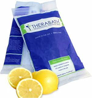 Therabath Paraffin Wax Refill - Use To Relieve Arthitis Pain and Stiff Muscles - Deeply Hydrates and Protects - 6 lbs (Fresh Squeezed Lemon)